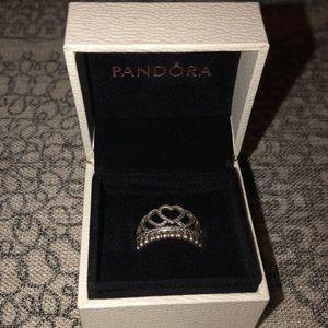 Silver Pandora Ring Set